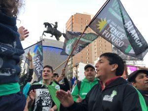«Cada vez que el presidente visite la provincia vamos a manifestarnos»