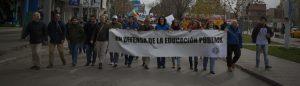 Marcha en defensa de la Universidad Nacional del Comahue
