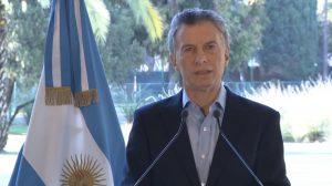 Macri: «Acompañaremos con los esfuerzos fiscales necesarios»