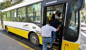 Transporte público: Reducen frecuencias durante las vacaciones de invierno