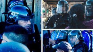 Causa disparo a Raúl Godoy: policias se niegan a mostrar sus caras