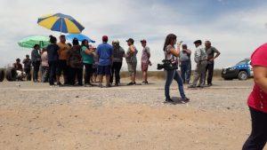 Sauzal Bonito: Cortan la ruta por falta de agua potable