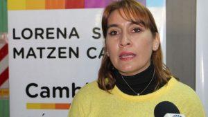 Lorena Matzen: «La Constitución no le permite a Weretilneck ser candidato de nuevo»