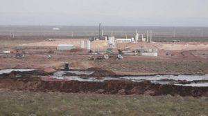 Añelo: Greenpeace bloquea el acceso al basurero de Treater