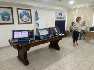 Presentaron en pantalla las boletas electrónicas para la elección provincial