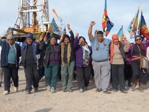 Suspenden juicio contra comunidad mapuce