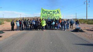 UOCRA Rincón de los Sauces se pliega al paro petrolero