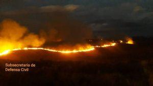 El incendio en Collón Curá está «contenido»