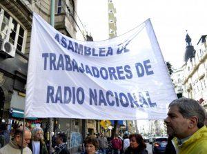 Paro en Radio Nacional: La medida se realiza en todo el país