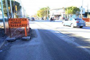Transporte público: Cambian recorridos en el oeste por un corte en la calle San Martín