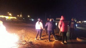 Vecinos de Añelo cortan rutas y reclaman seguridad vial