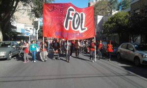 El FOL denuncia que «el gobierno incumplió los acuerdos alcanzados»