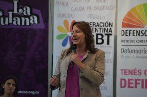 Ornella Infante conducirá la federación argentina LGBT