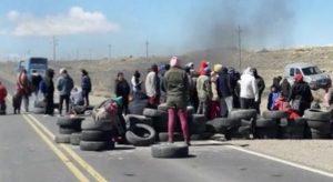 Zapala: El PO mantendrá el corte hasta que provincia firme el acuerdo al que arribaron con el municipio