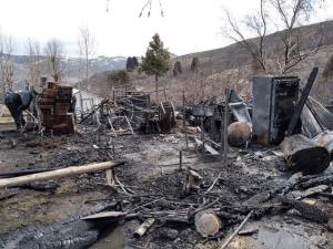 Junín de los Andes: Un incendio en la Escuela 306 dejó daños totales