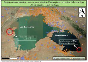 Vaca Muerta: Publican imágenes satelitales del incendio y el pasivo ambiental en Loma la Lata
