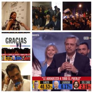 Presidenciales 2019: Alberto Fernández ganó en primera vuelta