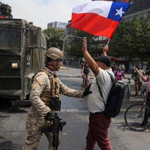 Chile sitiado