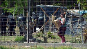 Desalojo en Confluencia: La Fiscalía intervino ante una denuncia de la Municipalidad