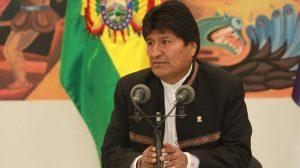 Evo Morales denunció intento de un golpe de Estado