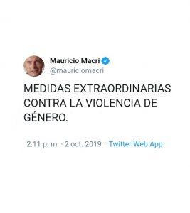 Violencia de Género: «Macri desconoce la ley vigente»