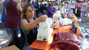Obreras textiles realizan un nuevo «maquinazo»