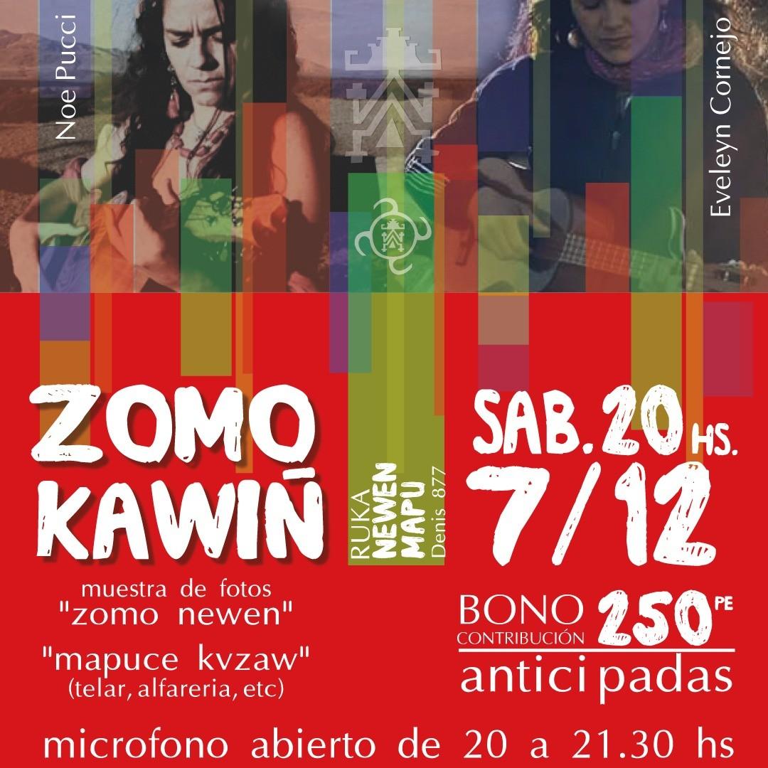 Zomo Kawiñ – Mujeres y arte