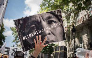Movilización en Neuquén a 4 años de la detención de Milagro Sala
