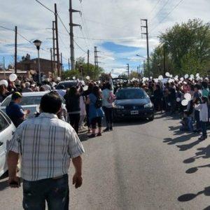 Cutral Co: Organizan una nueva marcha por justicia para el nene que recibió una bala perdida