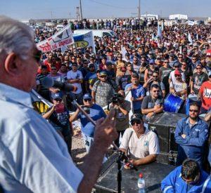 El Sindicato de Petroleros convoca una asamblea masiva