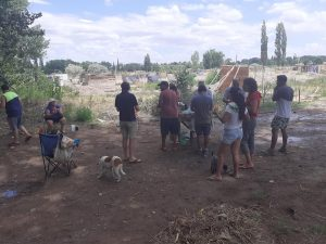 Toma en Confluencia: El intendente les dijo que la Municipalidad tiene otro proyecto para las tierras