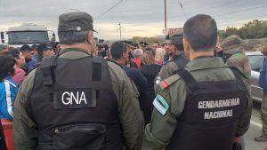 Cutral Co: «Gendarmería desapareció por arte de magia»