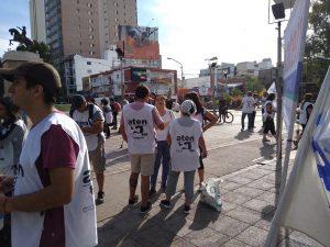 Paro docente: Nueva movilización en el cuarto día de paro