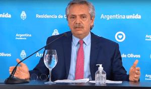 Alberto Fernández: «Vamos a prolongar la cuarentena hasta que termine Semana Santa»