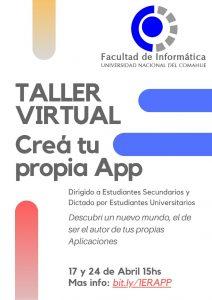 UNCo: Sigue el taller de diseño de aplicaciones móviles