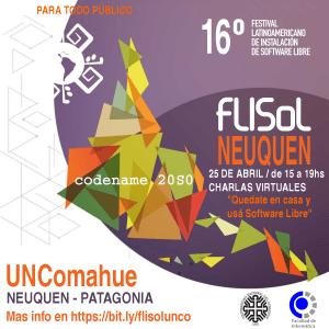 UNCo: El sábado habrá un festival de Software Libre vía internet