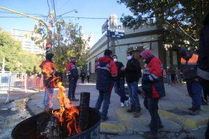 Mineros de Andacollo esperan el pago de salarios