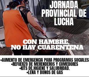 Organizaciones sociales realizan protestas en toda la provincia