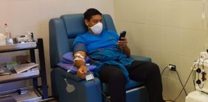 El Centro Regional de Hemoterapia ya recibe a donadores de plasma para pacientes con COVID-19