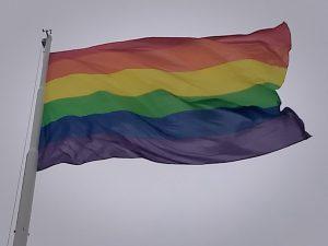 Izan la bandera del orgullo LGBTIQ en Neuquén capital