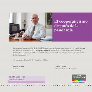 Charla gratuita: El cooperativismo después de la pandemia