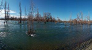 Siguen aumentando los caudales de los ríos