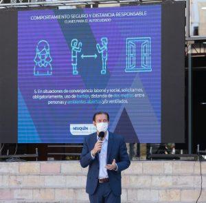El gobierno provincial apela a la responsabilidad individual para frenar los contagios en Neuquén
