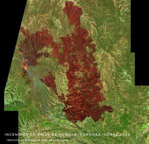 La CONAE realiza un seguimiento satelital de los incendios en Córdoba y el Delta del Paraná
