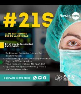 Salud: Los profesionales denuncian que la pandemia demuestra el deterioro en las condiciones laborales que existían previamente