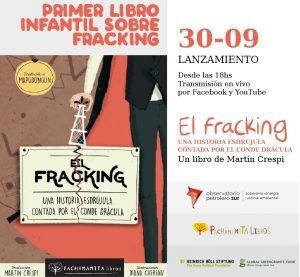 Lanzamiento del primer libro infantil sobre fracking en Argentina