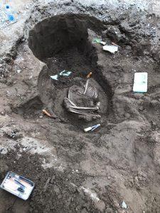 Restos arqueológicos en Neuquén