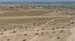 Comenzaron los trabajos de urbanización en la zona de la meseta