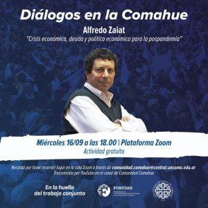 Videoconferencias en la UNCo: Alfredo Zaiat hablará sobre la economía en la pospandemia