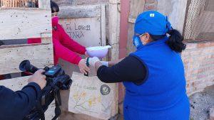 Comedores barriales deben repartir las viandas a familias aisladas por Covid-19